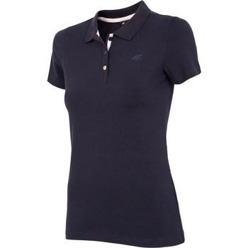 Îmbracaminte Femei Tricouri mânecă scurtă 4F NOSH4 TSD008 Granat Albastru marim