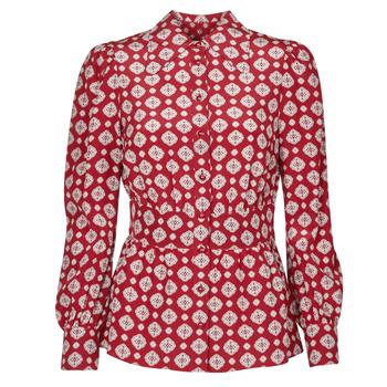 Îmbracaminte Femei Topuri și Bluze MICHAEL Michael Kors LUX PINDOT MED TOP Bordo