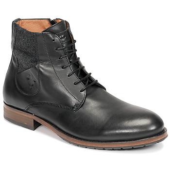Pantofi Bărbați Ghete Kost DROME Negru