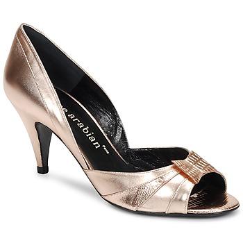 Încăltăminte Femei Pantofi cu toc Karine Arabian MONTEREY Roz /  metalizat
