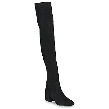 Pantofi Femei Cizme lungi peste genunchi Vanessa Wu CUISSARDES HAUTES Negru