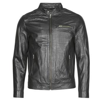 Îmbracaminte Bărbați Jachete din piele și material sintetic Selected SLHC01 Negru