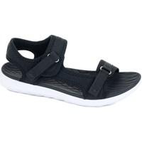 Pantofi Femei Sandale sport 4F H4L20 SAD001 Czarny Negre