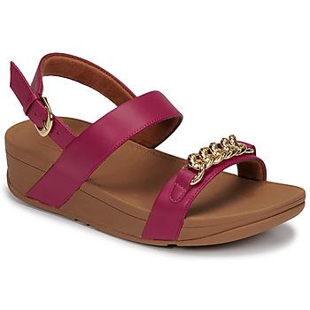 Pantofi Femei Sandale  FitFlop LOTTIE CHAIN BACK-STRAP SANDALS Fuchsia