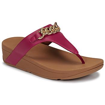 Pantofi Femei Sandale  FitFlop LOTTIE CHAIN TOE-THONGS Fuchsia