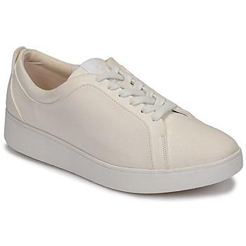 Pantofi Femei Pantofi sport Casual FitFlop RALLY DENIM Alb