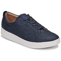 Pantofi Femei Pantofi sport Casual FitFlop RALLY DENIM Albastru