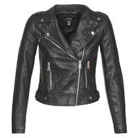 Îmbracaminte Femei Jachete din piele și material sintetic Vero Moda VMKERRIULTRA Negru