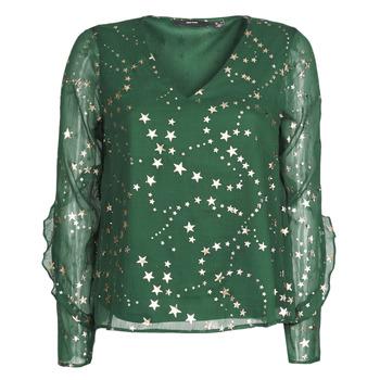 Îmbracaminte Femei Topuri și Bluze Vero Moda VMFEANA Verde