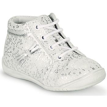 Pantofi Fete Pantofi sport stil gheata GBB ACINTA Alb / Argintiu