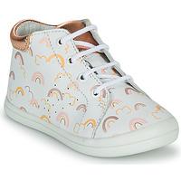 Pantofi Fete Pantofi sport stil gheata GBB NAHIA Alb / Roz
