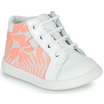 Pantofi Fete Pantofi sport stil gheata GBB FAMIA Alb / Roz
