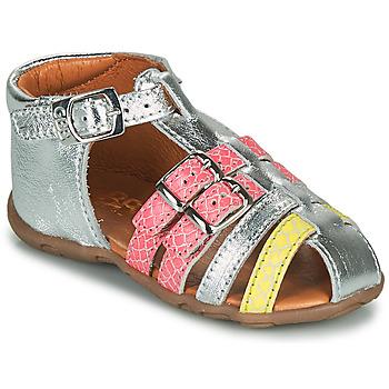 Pantofi Fete Sandale  GBB RIVIERA Argintiu
