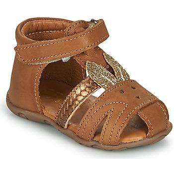 Pantofi Fete Sandale  GBB FADIA Maro