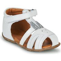Pantofi Fete Sandale  GBB FADIA Alb