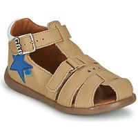 Pantofi Băieți Sandale  GBB GARDOU Bej