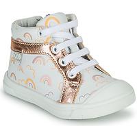 Pantofi Fete Pantofi sport stil gheata GBB LEOZIA Alb / Roz