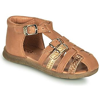 Pantofi Fete Sandale  GBB PERLE Maro