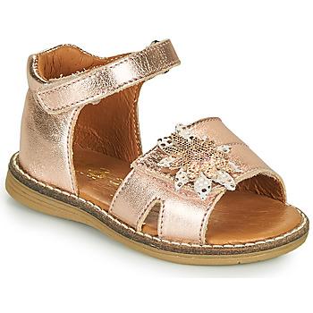 Pantofi Fete Sandale  GBB SATIA Roz / Gold