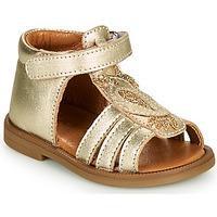 Pantofi Fete Sandale  GBB FRANIA Auriu