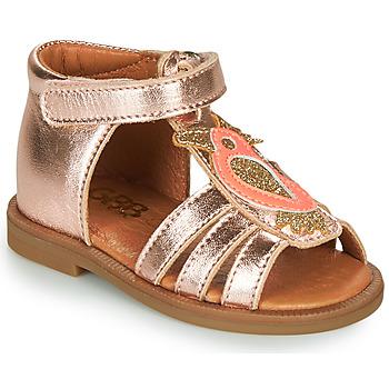 Pantofi Fete Sandale  GBB FRANIA Roz / Gold