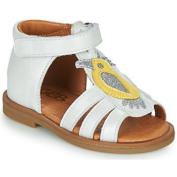 Pantofi Fete Sandale  GBB FRANIA Alb