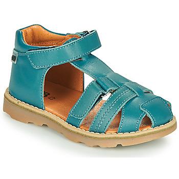 Pantofi Băieți Sandale  GBB MITRI Albastru