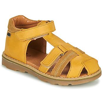 Pantofi Băieți Sandale  GBB MITRI Portocaliu