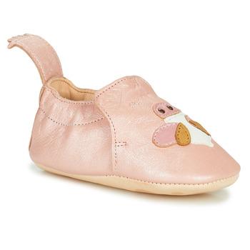 Pantofi Fete Papuci de casă Easy Peasy BLUMOO ABEILLE Roz