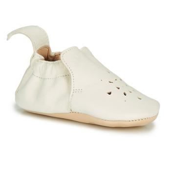 Pantofi Copii Papuci de casă Easy Peasy BLUMOO PERFOS Alb