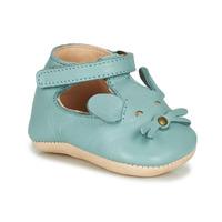 Pantofi Copii Papuci de casă Easy Peasy LOULOU MOUSE Albastru