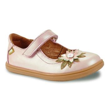 Pantofi Fete Balerin și Balerini cu curea GBB FANETTA Roz