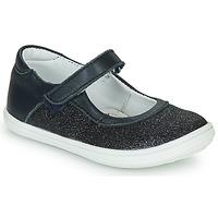 Pantofi Fete Balerin și Balerini cu curea GBB PLACIDA Albastru