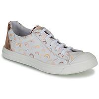 Pantofi Fete Pantofi sport Casual GBB MATIA Alb / Roz