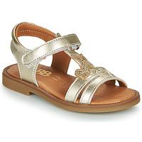 Pantofi Fete Sandale  GBB MURIA Auriu