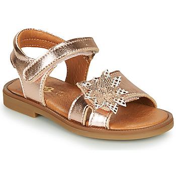 Pantofi Fete Sandale  GBB UPPLA Roz / Gold