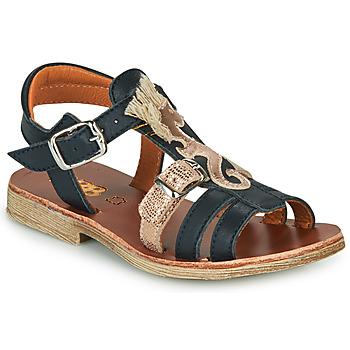Pantofi Fete Sandale  GBB PALOMA Albastru