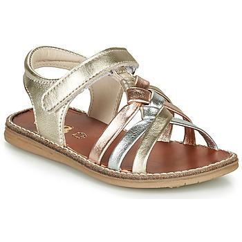 Pantofi Fete Sandale  GBB SUMY Auriu