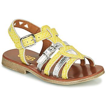 Pantofi Fete Sandale  GBB FANNI Galben