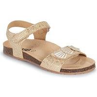 Pantofi Fete Sandale  GBB FAZZI Auriu