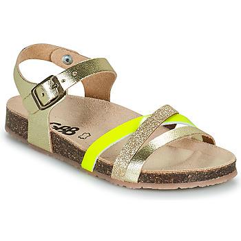 Pantofi Fete Sandale  GBB LULUNE Auriu