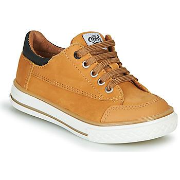 Pantofi Băieți Pantofi sport Casual GBB ETIO Coniac
