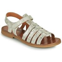 Pantofi Fete Sandale  GBB KATAGAMI Bej / Auriu