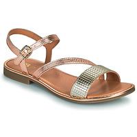 Pantofi Fete Sandale  GBB FANA Roz / Gold / Auriu