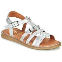 Pantofi Fete Sandale  GBB OLALA Argintiu