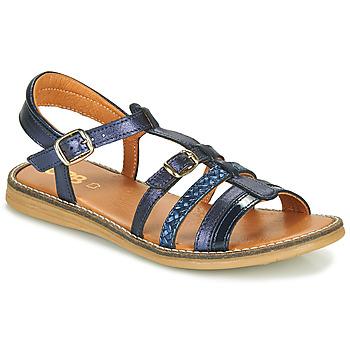 Pantofi Fete Sandale  GBB OLALA Albastru
