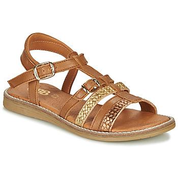 Pantofi Fete Sandale  GBB OLALA Maro