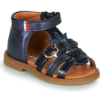 Pantofi Fete Sandale  GBB PAULETTE Albastru