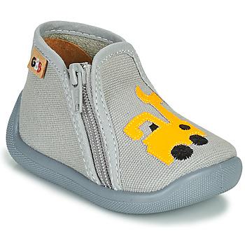 Pantofi Fete Papuci de casă GBB APOMO Gri