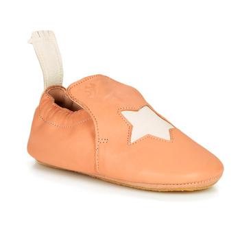 Pantofi Copii Papuci de casă Easy Peasy BLUBLU ETOILE Mou / Peach-white / Mou / Patina